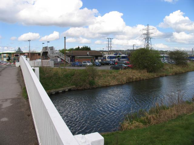 Thatcham Station and the Kennet and Avon Canal