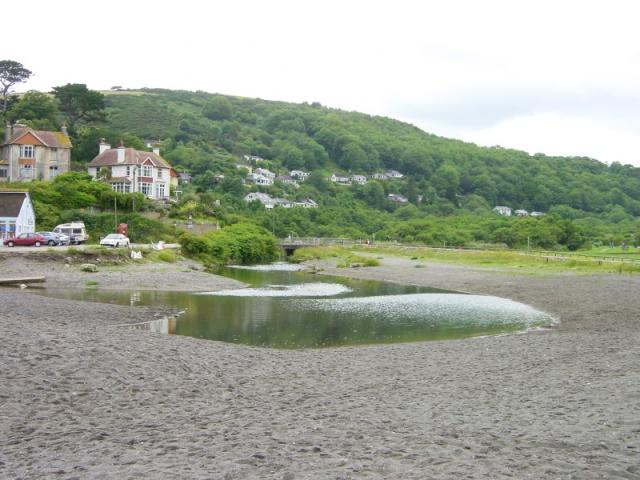 Seaton from the beach