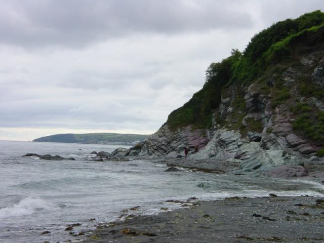 Looking west from Seaton beach