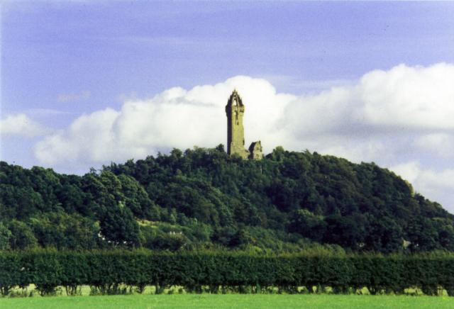 Wallace Monument: Nr Stirling