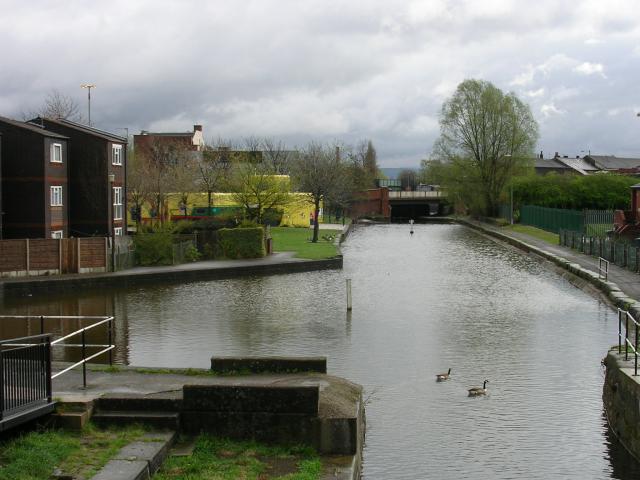 Rochdale Canal at Newton Heath