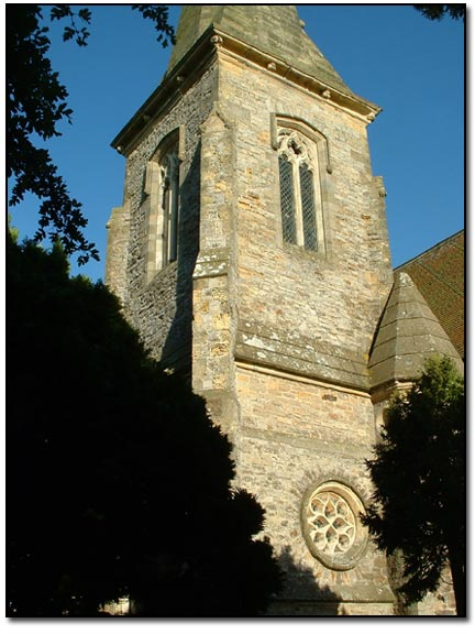 The Church on the edge of Great and Little Thirkleby