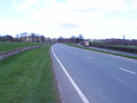 Main Highway between Mold and Wrexham