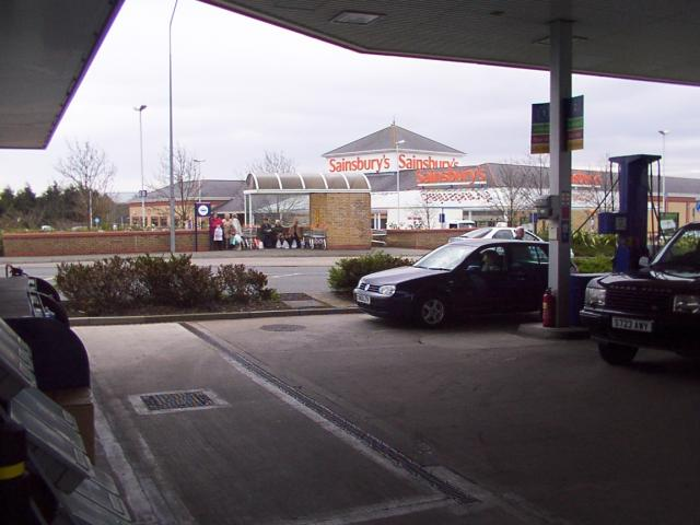 Out-of-town supermarket, Rhyl