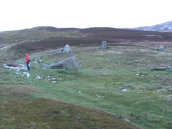 Stone circle above Penmaenmawr