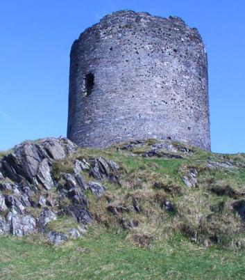 Dolbadarn Castle,  SW of Llanberis