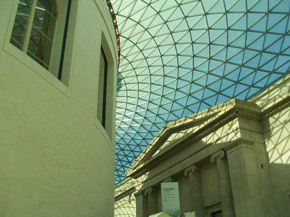 British Museum Reading Room and new roof