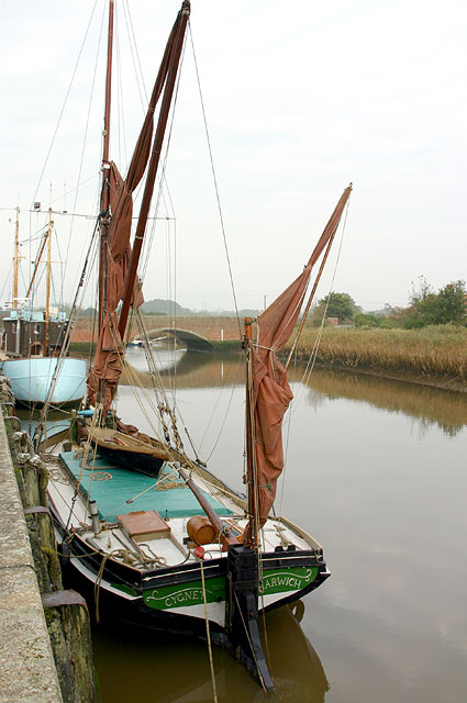Moorings at Snape