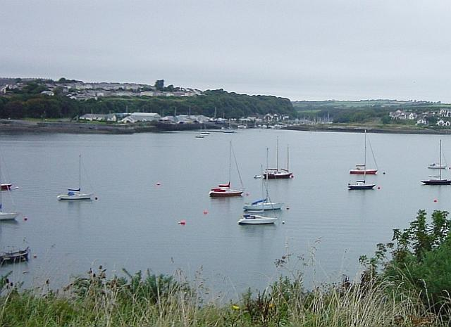Neyland from Pembroke Dock