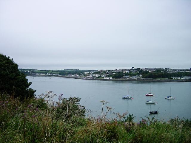 Neyland from Pembroke Dock