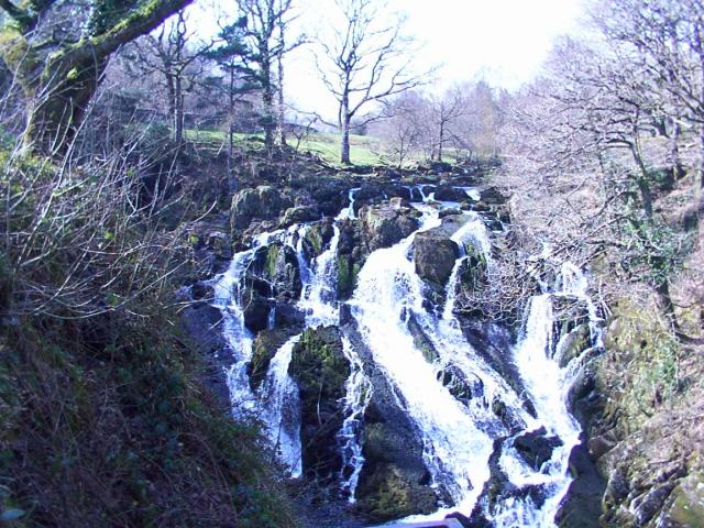Swallow Falls near Betws y Coed