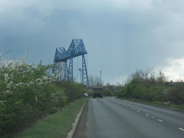 Transporter bridge over the River Tees