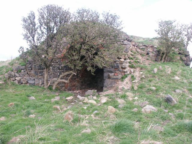 Old lime Kiln near Kiln point near Budle.