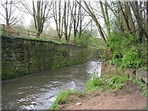 SD8502 : River Irk, Crumpsall, Manchester by Keith Williamson