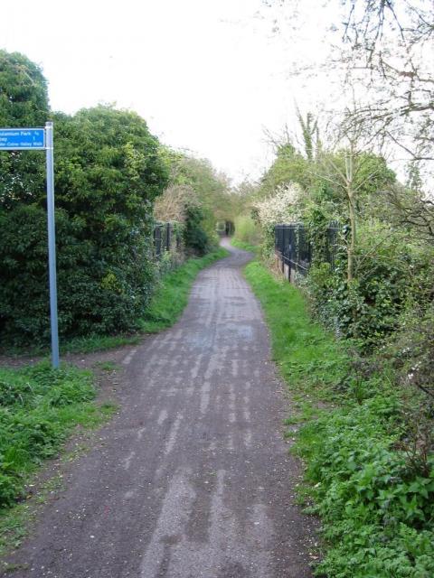 Cycleway bridge