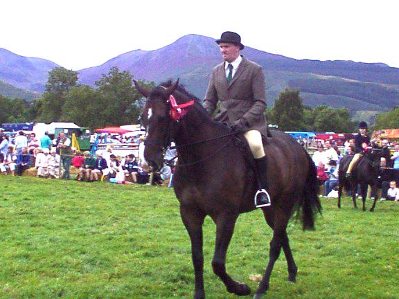 Horse event Keswick Show