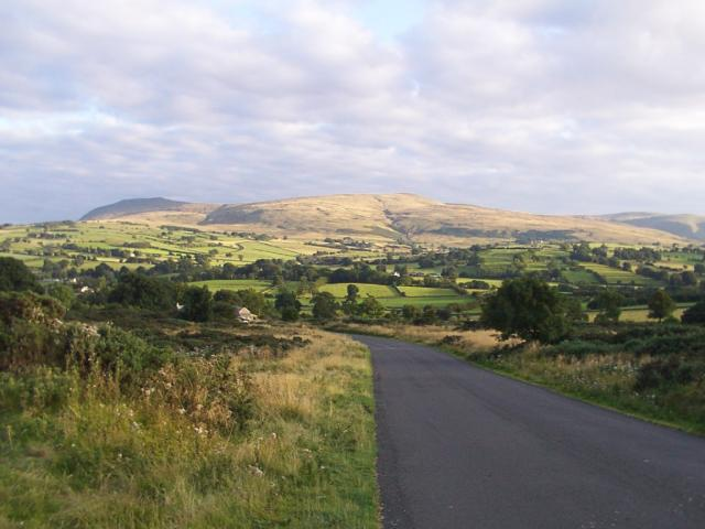 Road leading to Caldbeck