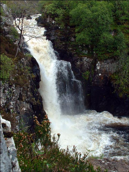 Kirkaig Falls, West coast of Scotland