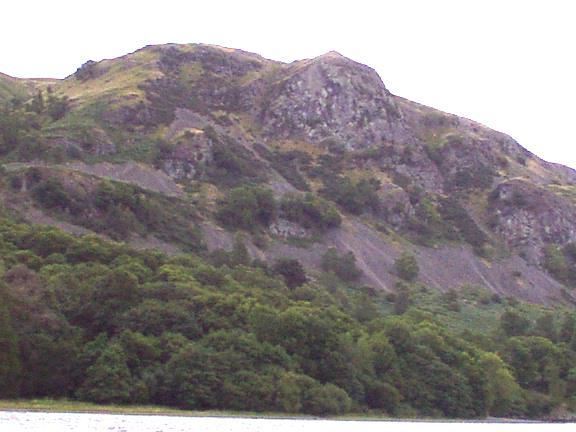 Falcon Crag Above Derwentwater