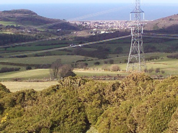 View from Moelfre Isaf above Abergele