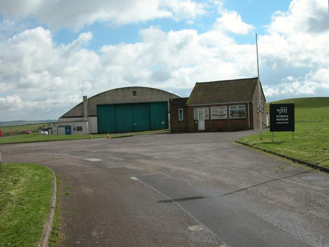 Entrance to the Science Museum site at Wroughton Airfield