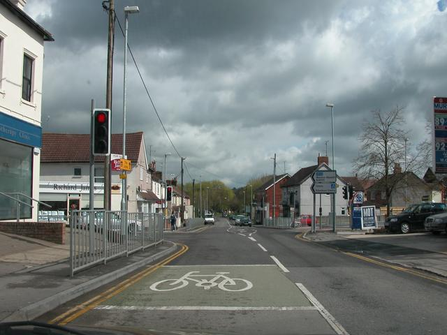Junction of A4361 and B4005 in the centre of Wroughton