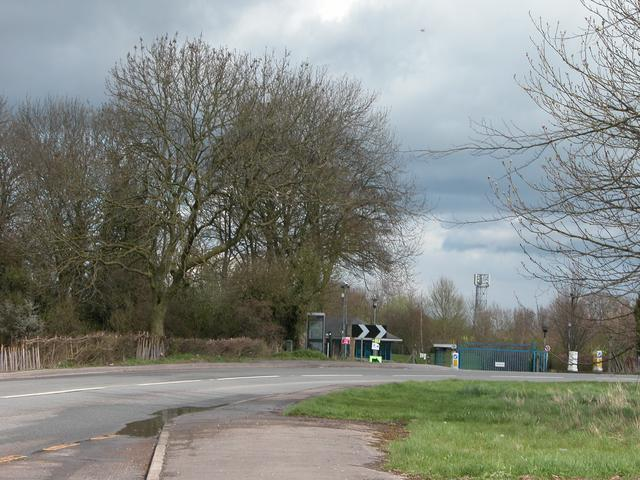 Site Entrance between Wroughton and Chisledon