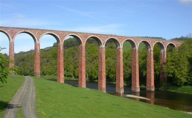Viaduct near Melrose