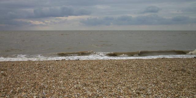 Snettisham Beach at High Tide
