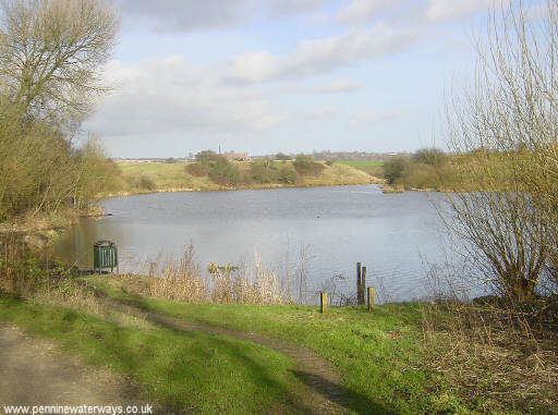 Crime Lake on the Hollinwood Branch Canal in Daisy Nook Country Park