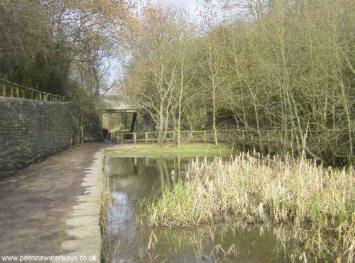 The former Waterhouses Tunnel at Daisy Nook Country Park