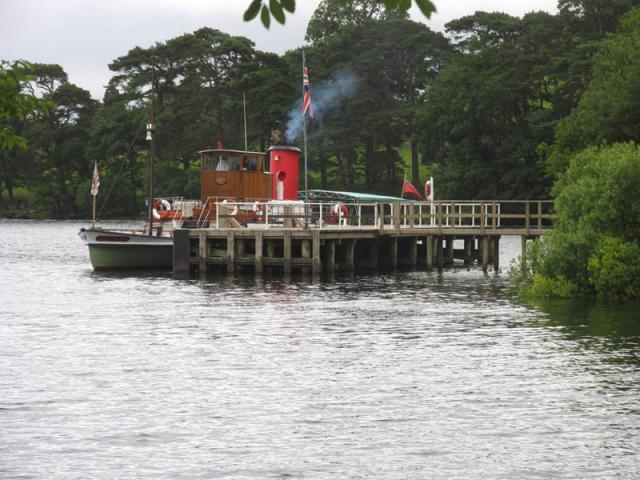 Howtown Pier on Ullswater