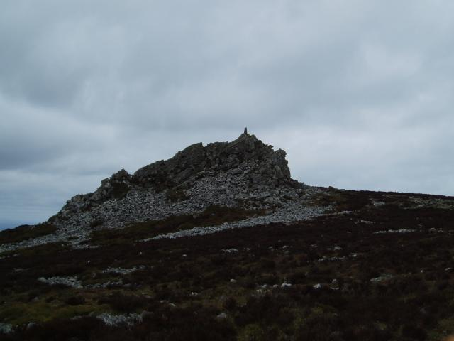 Manstone Rock, Stiperstones