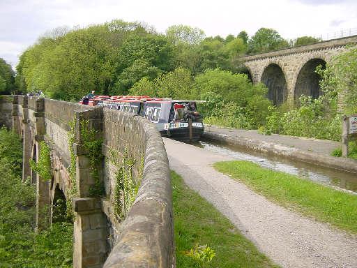 Marple Aqueduct, Peak Forest Canal
