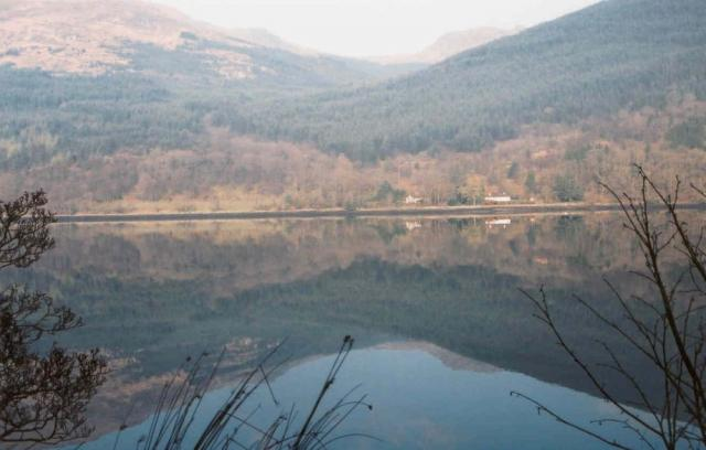 Looking across Long Loch from Arrochar