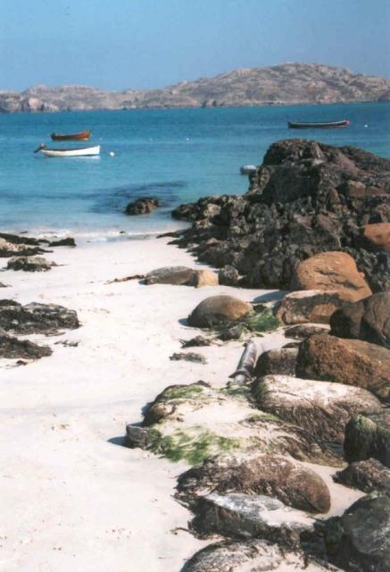 Beach on Iona