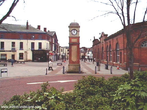 Clock, Market Street, Ashton under Lyne