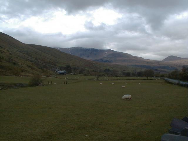 View of Snowdon from Nant y Betws