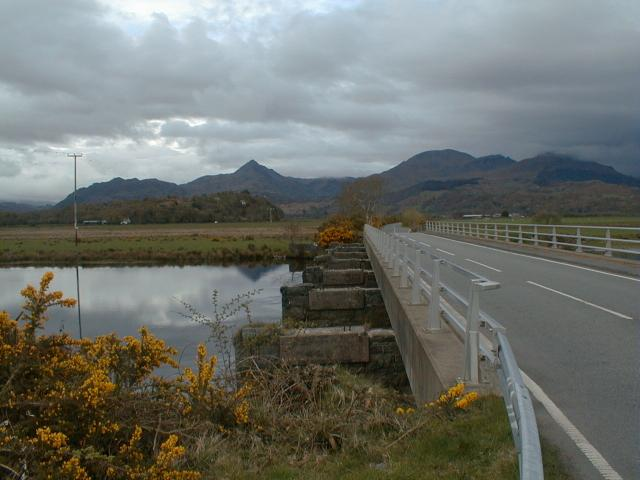 Pont Croesor over the Afon Glaslyn