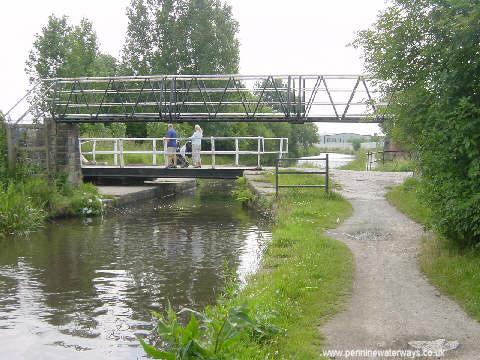 Buxton Lane Swing Bridge, Droylsden