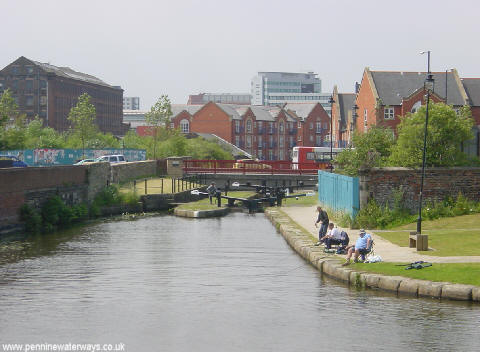 Ancoats Locks, Ashton Canal