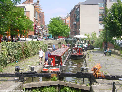 Rochdale Canal, Canal Street, Manchester
