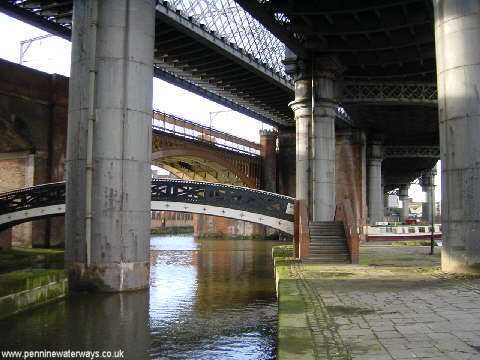 Railway Viaducts at Castlefield, Manchester