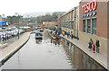 SJ9698 : Huddersfield Canal in Stalybridge by Martin Clark