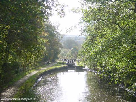 Lock 9w, Huddersfield Canal