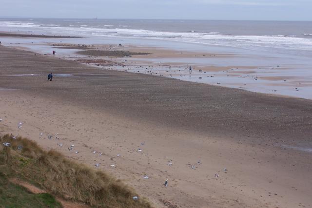 Beach between Redcar and Marske