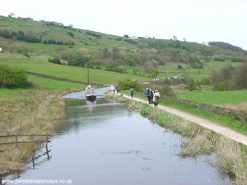 Huddersfield Narrow Canal at Booth, Marsden