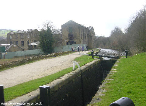 Huddersfield Narrow Canal at Linthwaite