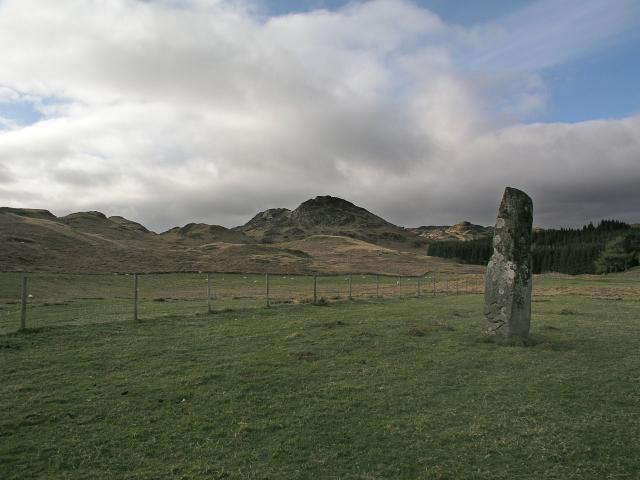 Standing Stone at Ford, Argyll