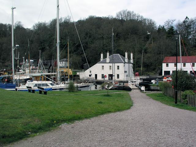 End of the Crinan Canal